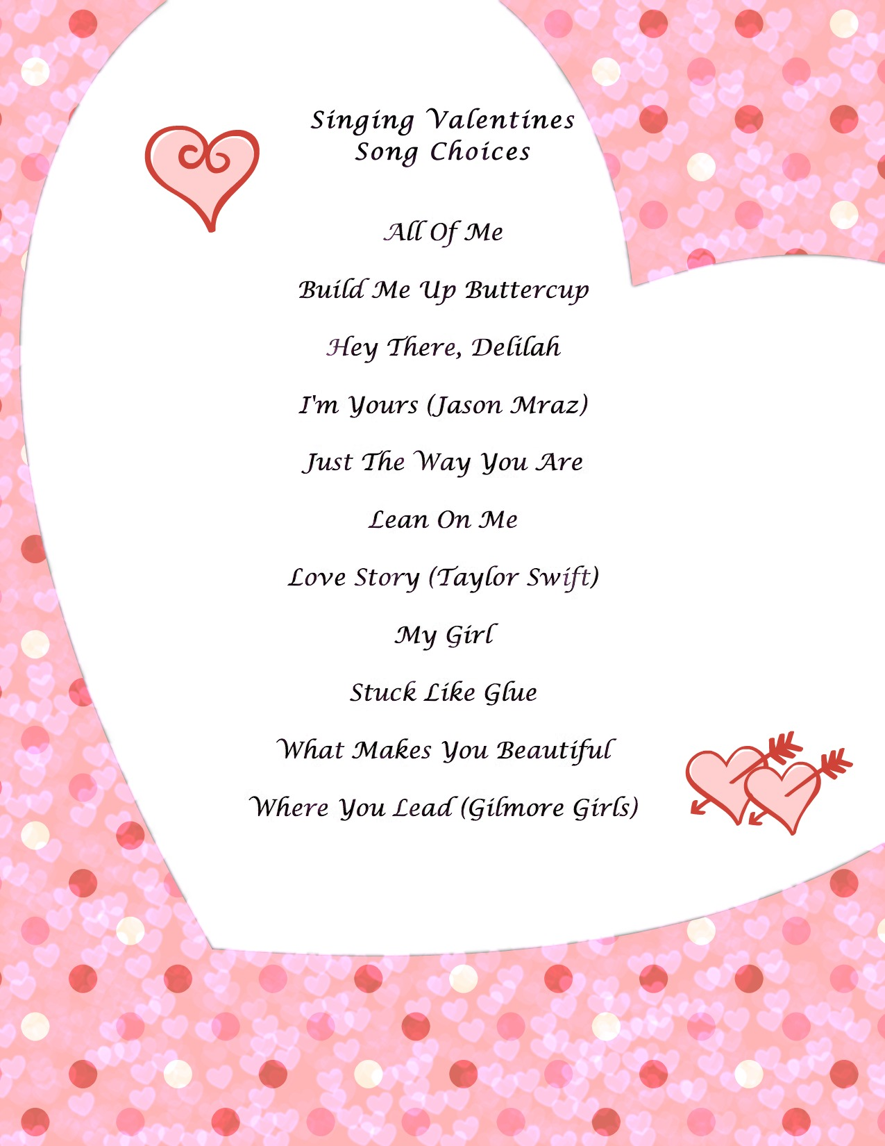 picture concert chorus members will be delivering singing valentines